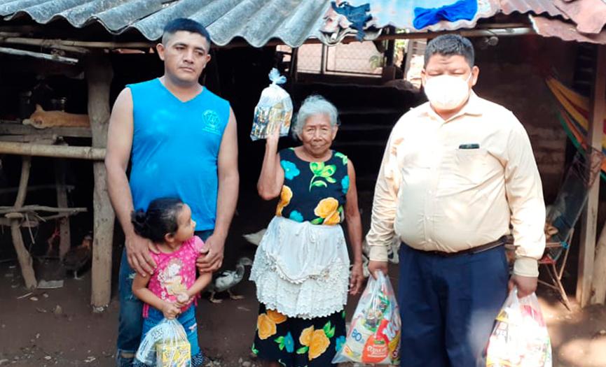 Entrega de Viveres El Salvador