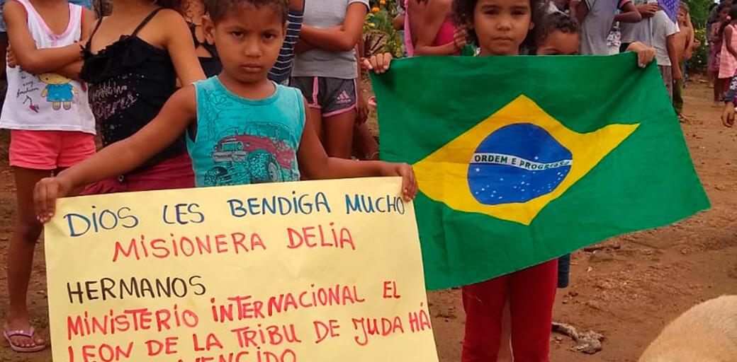Ayuda en Favelas de Brasil